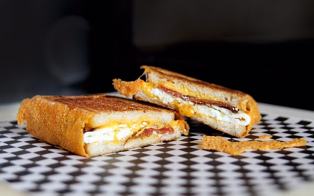 Egg, Bacon and Cheese