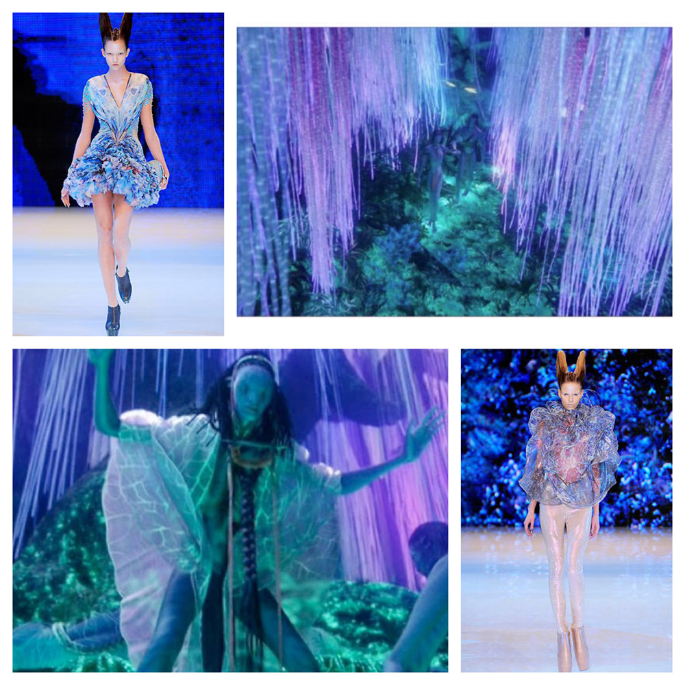 Spotted Avatar S Message And Color Palette Alexander Mcqueen Dressed Cinema
