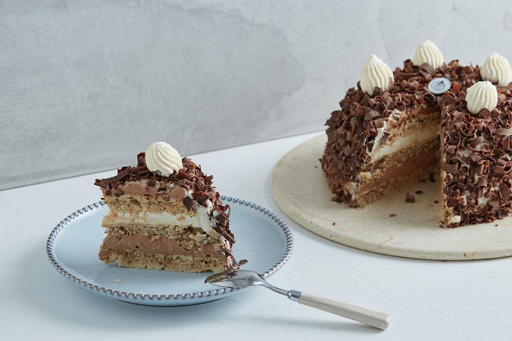 Our Merveilleux cake -