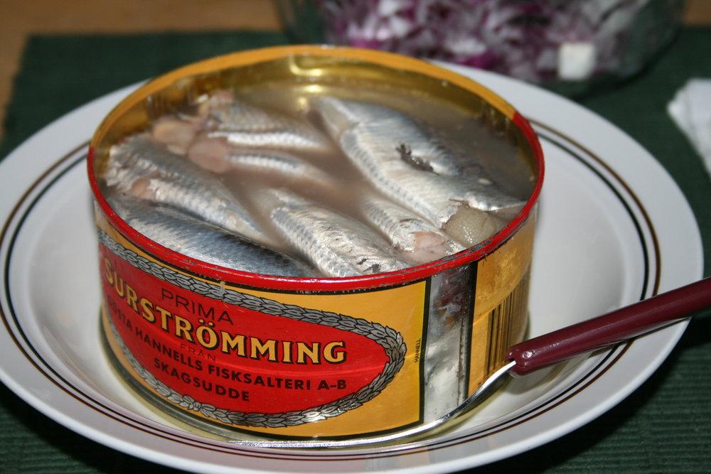 Lata de Surströmming