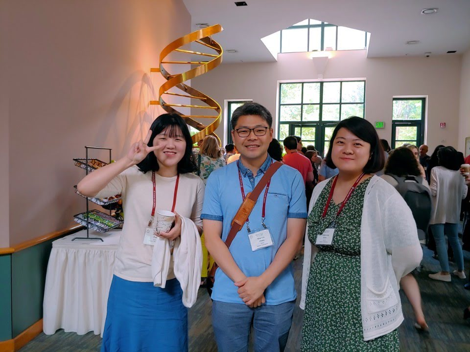 2018 CSHL GLIA meeting with PI, You Kyeong and Jung Joo