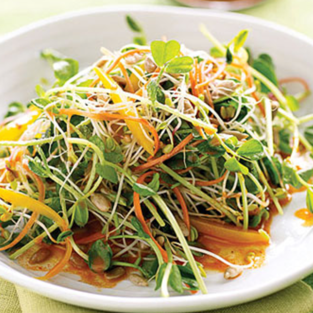 Spicy Sunflower & Carrot Salad -