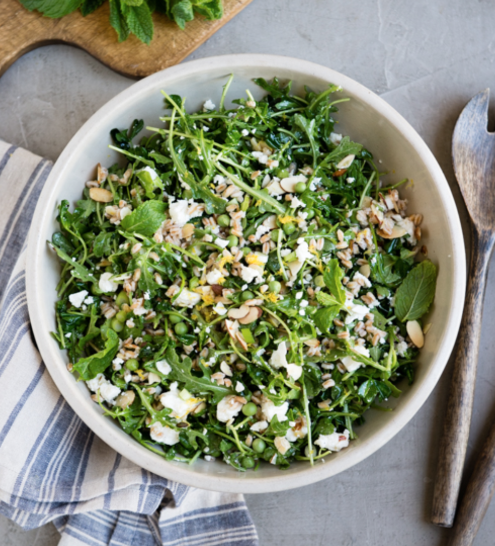 Arugula & Pea Shoot Salad -