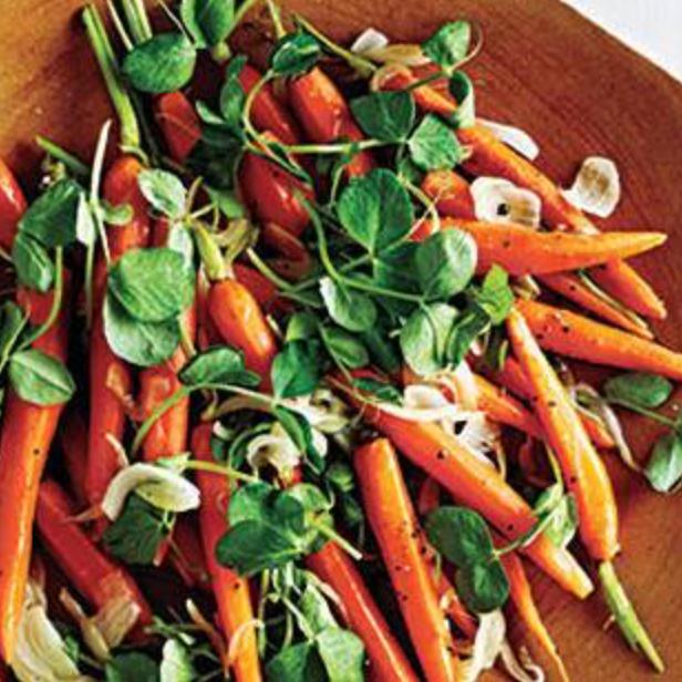 Newfangled Peas & Carrots -