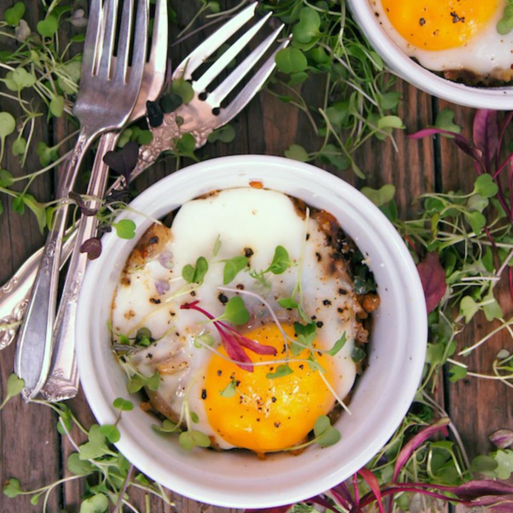 Hashbrown & Egg Bowls -