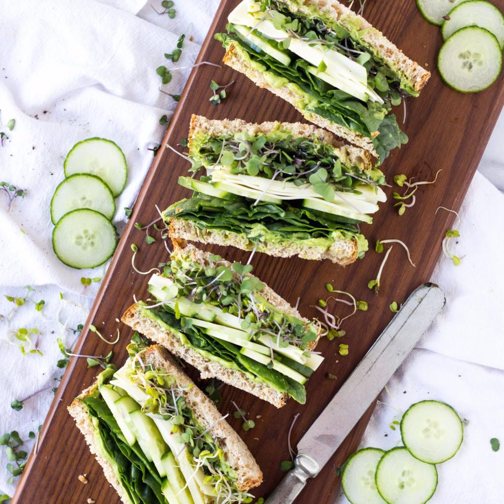 Super Greens Sandwich -