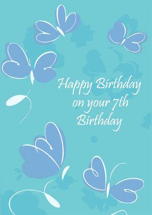 7th Birthday Cards Free Printable Birthday Cards Printbirthdaycards