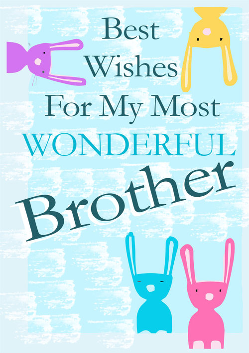 Brothers Birthday Cards PRINTBIRTHDAYCARDS