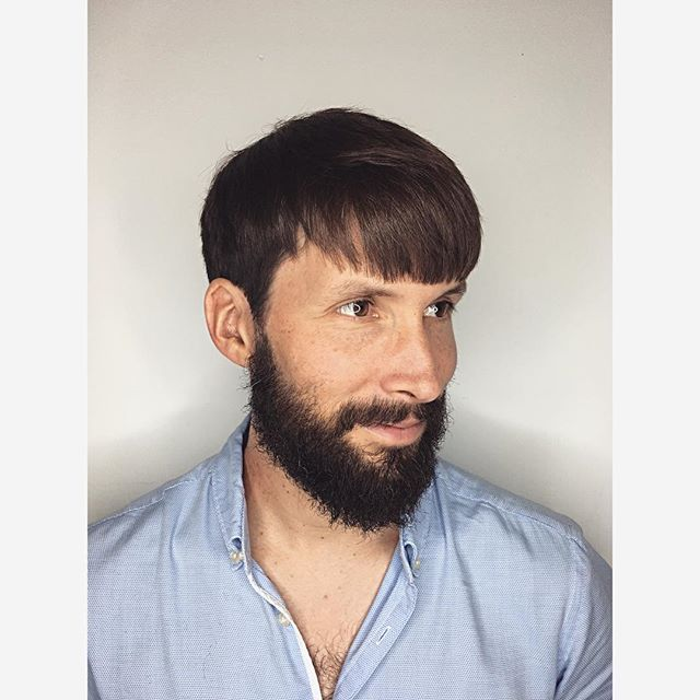 till . . . . . . . . . . #haircut #hairstyle #work #shorthair #men #hair #education #photooftheday #beard #kevinmurphy