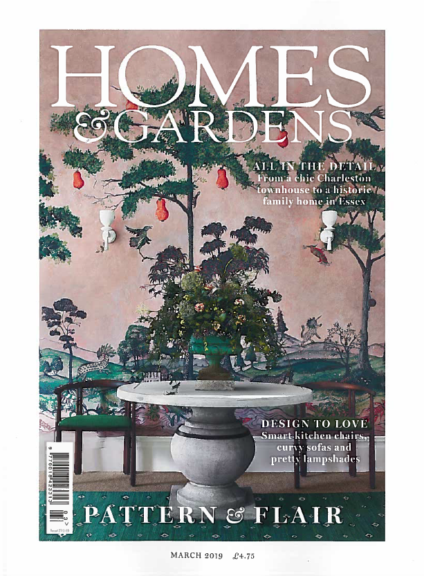 "Homes & Gardens- March 2019   Featuring an introduction to our new KDLoves product range - ""we are delighted that she's launched a new online boutique selling fabulous furniture and accessories."""