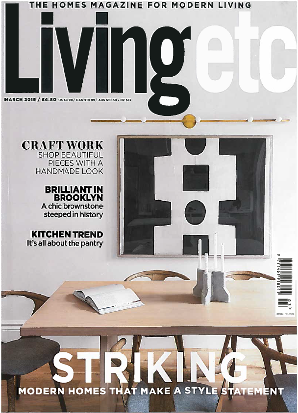 Living Etc - March 2019   The Isabella headboard is featured as a standout piece from the range - buy it  here .