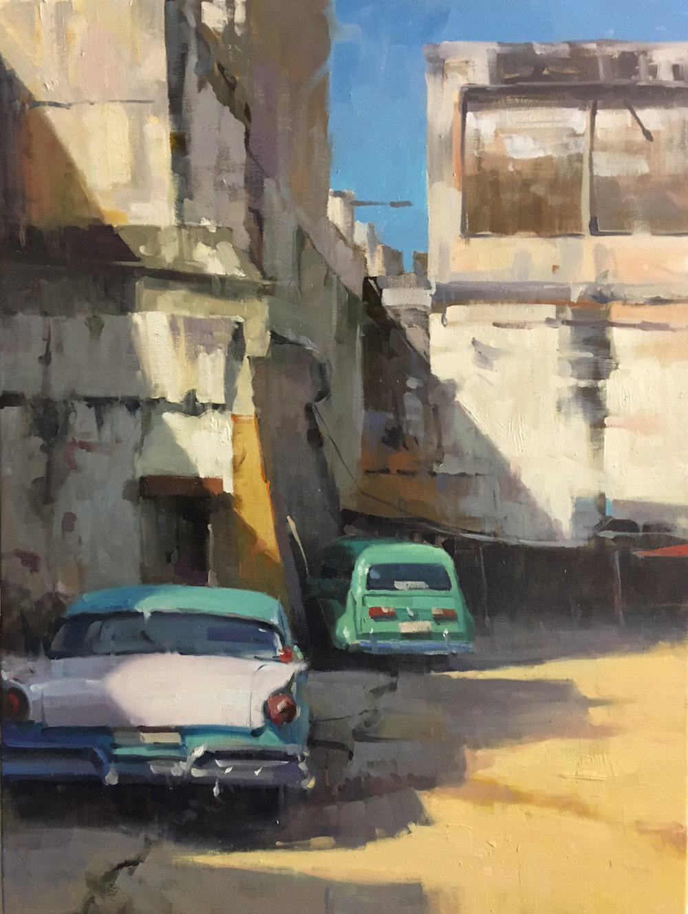 Old Havana parking