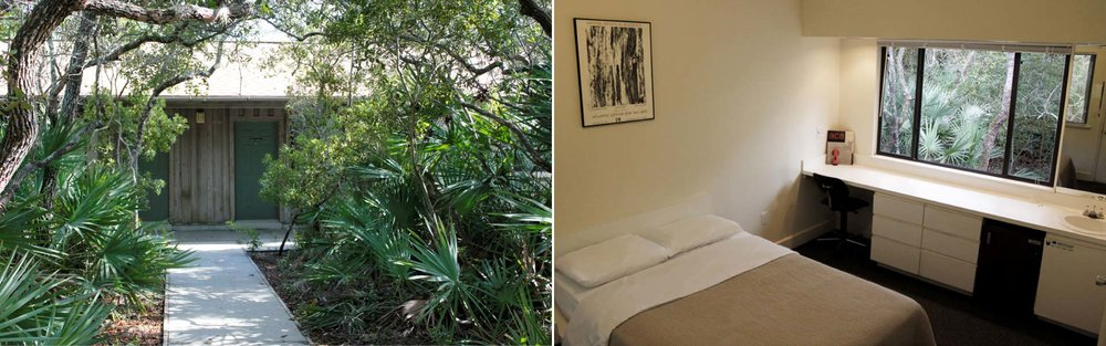 Artist lodging. Perfect for no distractions thinking and introspection.