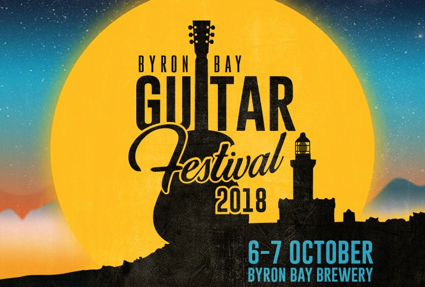 - Ash has been announced on the line-up for the 2018 Byron Bay Guitar Festival. The Byron Bay Guitar Festival celebrates Australia's greatest guitarists and the music that has been revolutionised by the guitar.From 6 - 7 October 2018 the iconic Byron Bay Brewery will be transformed into a guitarist and music lovers heaven. Our event will feature 25 performances, 5 specialty workshops and host its very own guitar retail section.