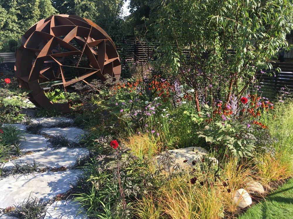RHS Hampton Court Flower Show 2018 - Silver Gilt Award