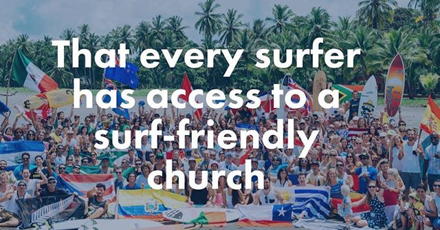 Who do you know that's involved in leading or planting a surfer friendly #church? Let us know.  This is a good place to connect with others who carry the same #mission to reach surfers around the world.🌎🏄🌊 #churchplanting #surfchurch #christiansurfers