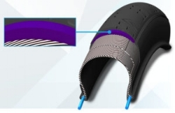 Our puncture protected belt is available in Polyester and Kevlar.