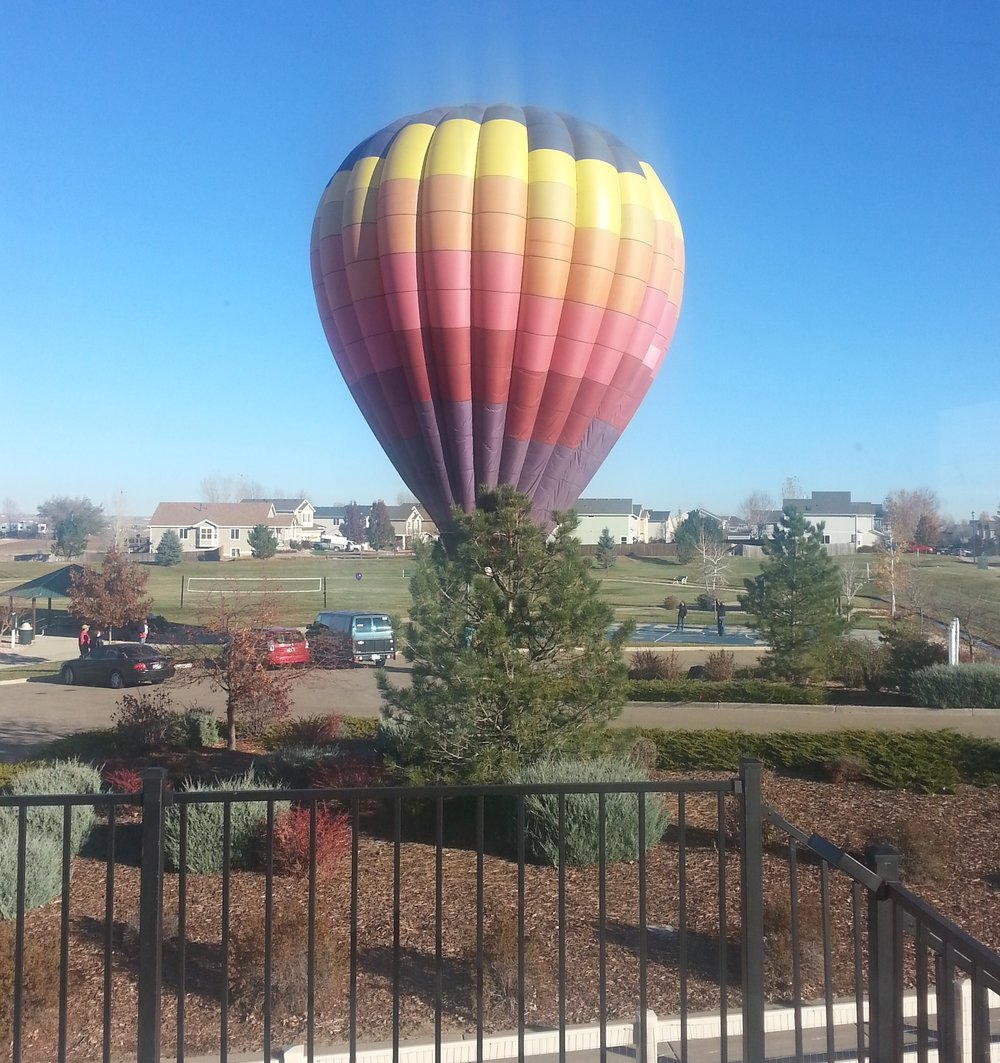 Big Ideas - like hot air balloons, can soar to the heavens, if they have the right guide to nurture them along.