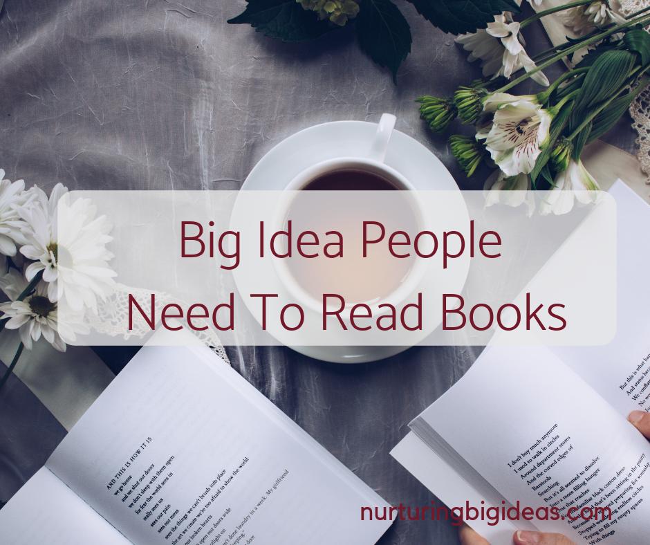 big idea people need to read books