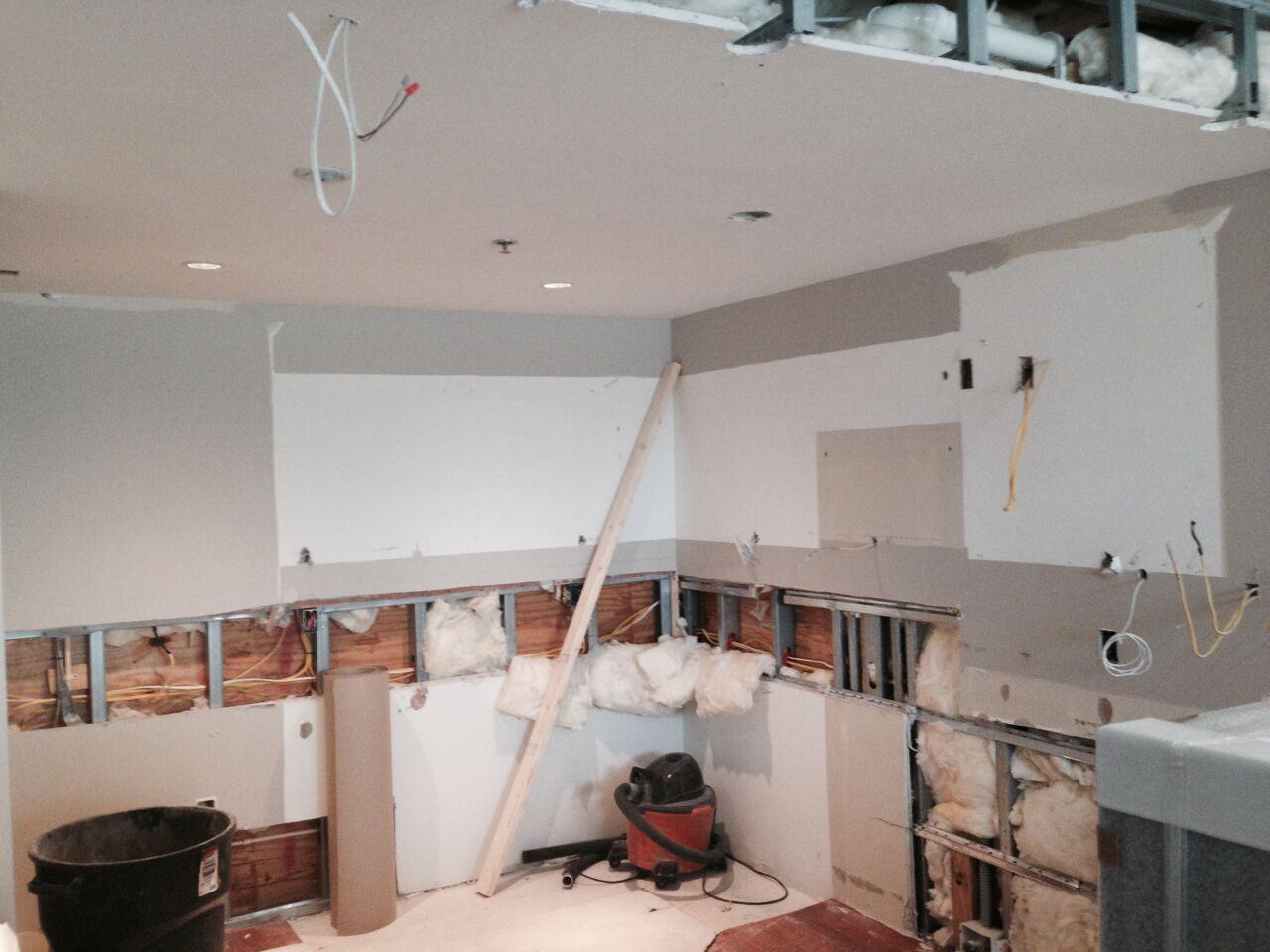 kitchen remodel demolition 2