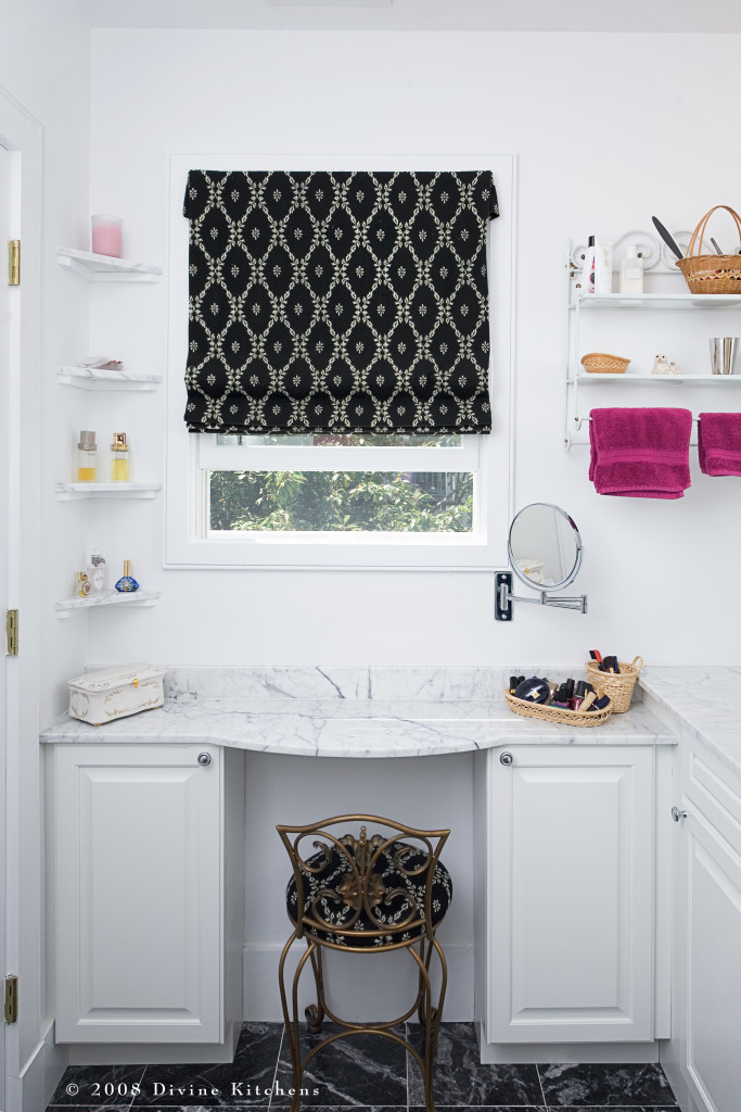 master bathroom vanity station
