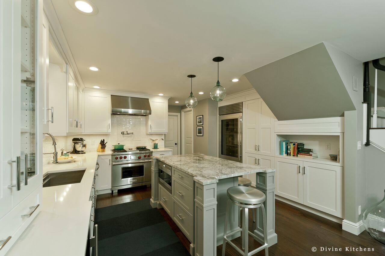 kitchen island ideas - multipurpose