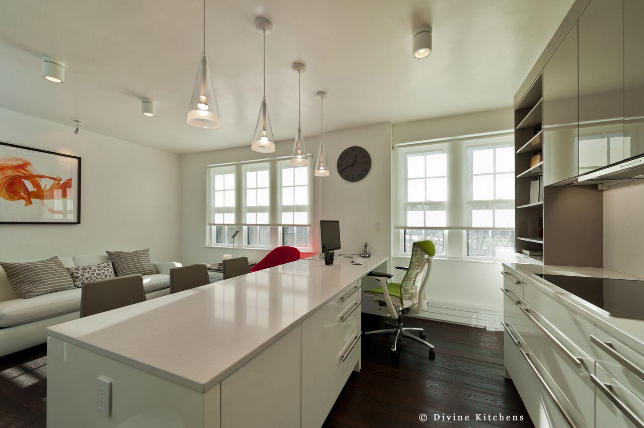 kitchen island ideas - workspace