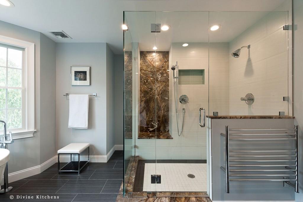 bathroom addition - shower
