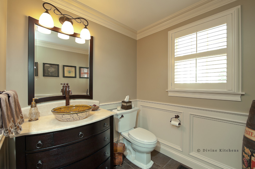 traditional powder room ideas