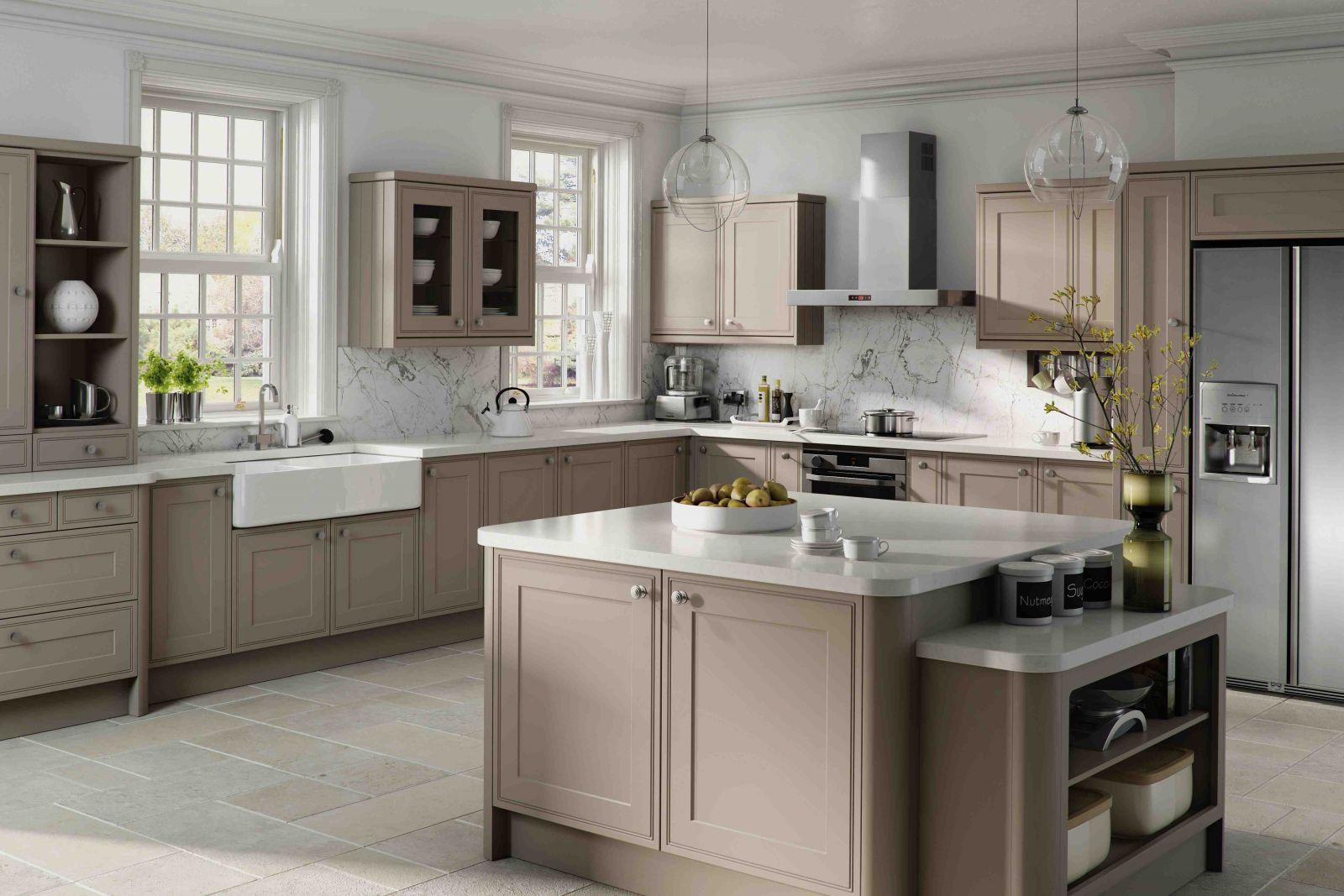 Alternatives To White Kitchen Cabinets Divine DesignBuild - White and grey kitchen cupboards