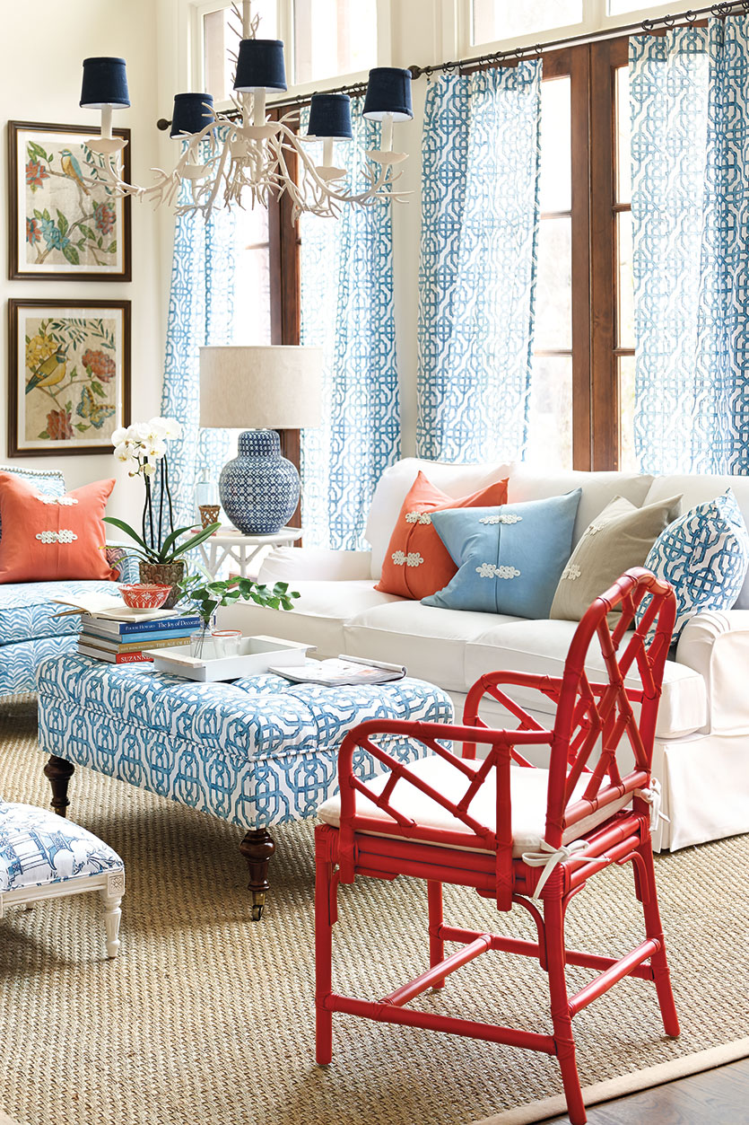 A preppy take on the look. Image via How to Decorate