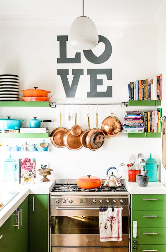 colorful kitchen-bhg