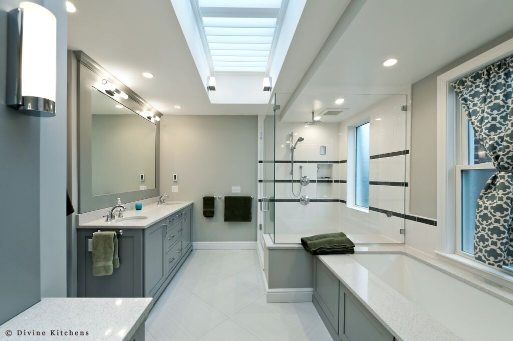 Boston brownstone renovation - bathroom 2