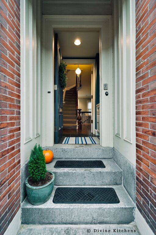 Boston brownstone renovation-exterior