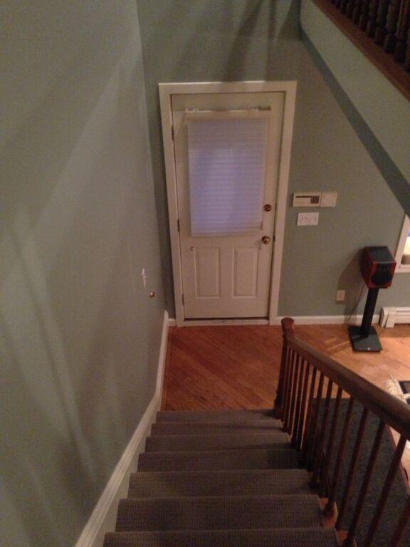 Boston brownstone renovation - stairs