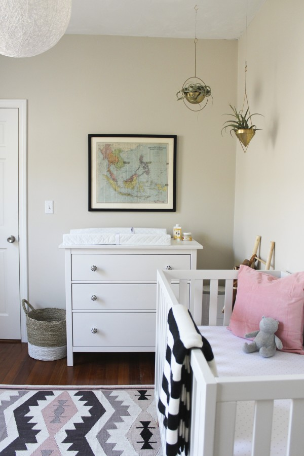 A snap from the nursery of Oh I Design blogger Jessica Klein