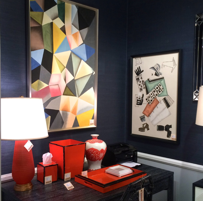 More Hermes-inspired looks from Bungalow 5. Image via Houzz.