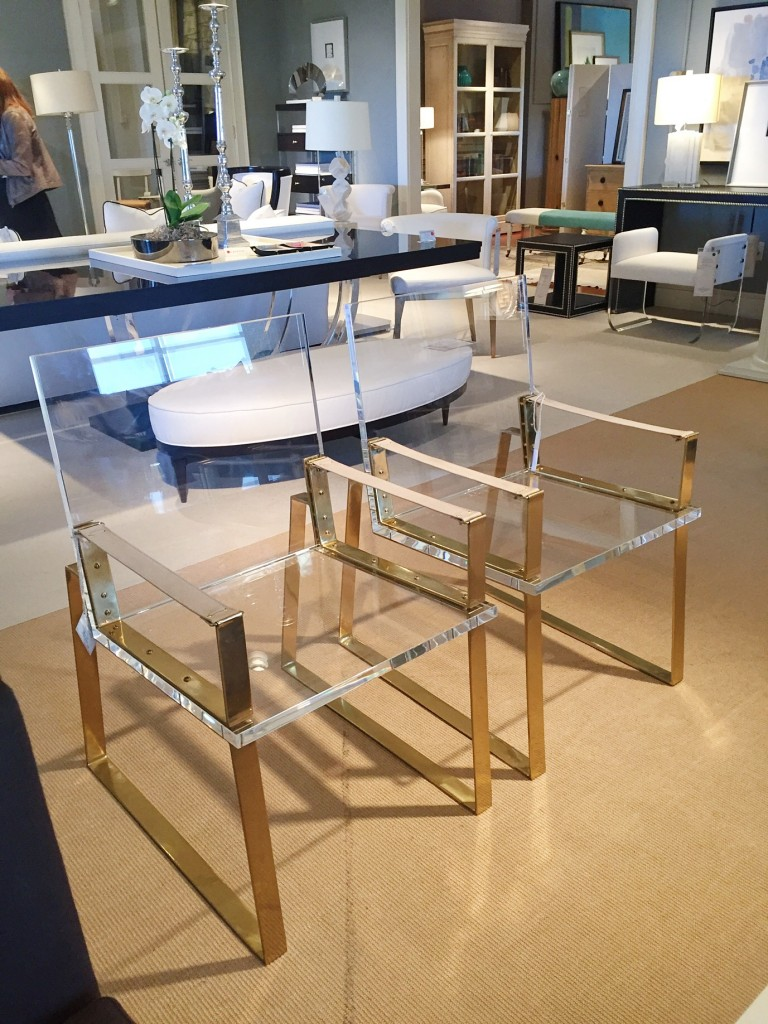 lucite furniture - inspired to style