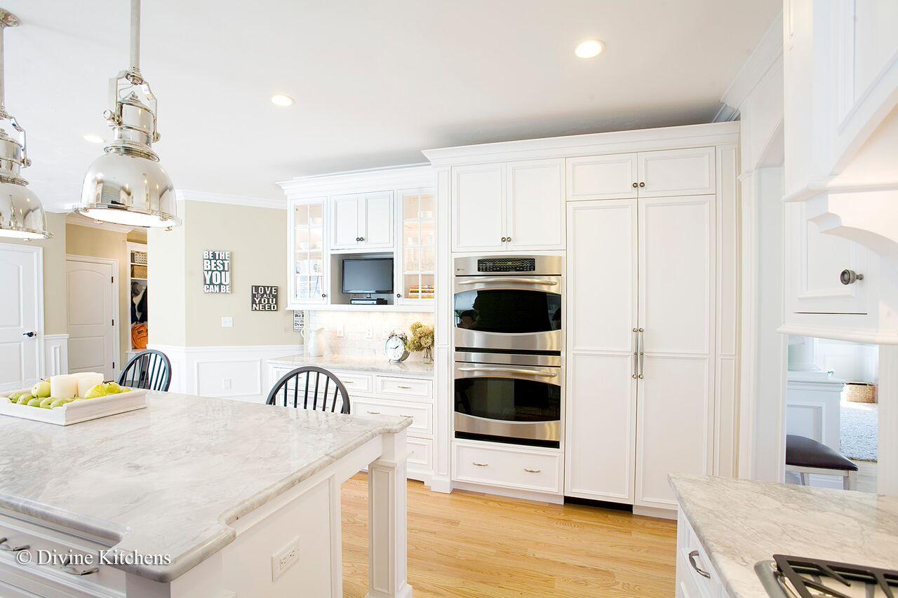 suburban boston kitchen renovation - after photo 1