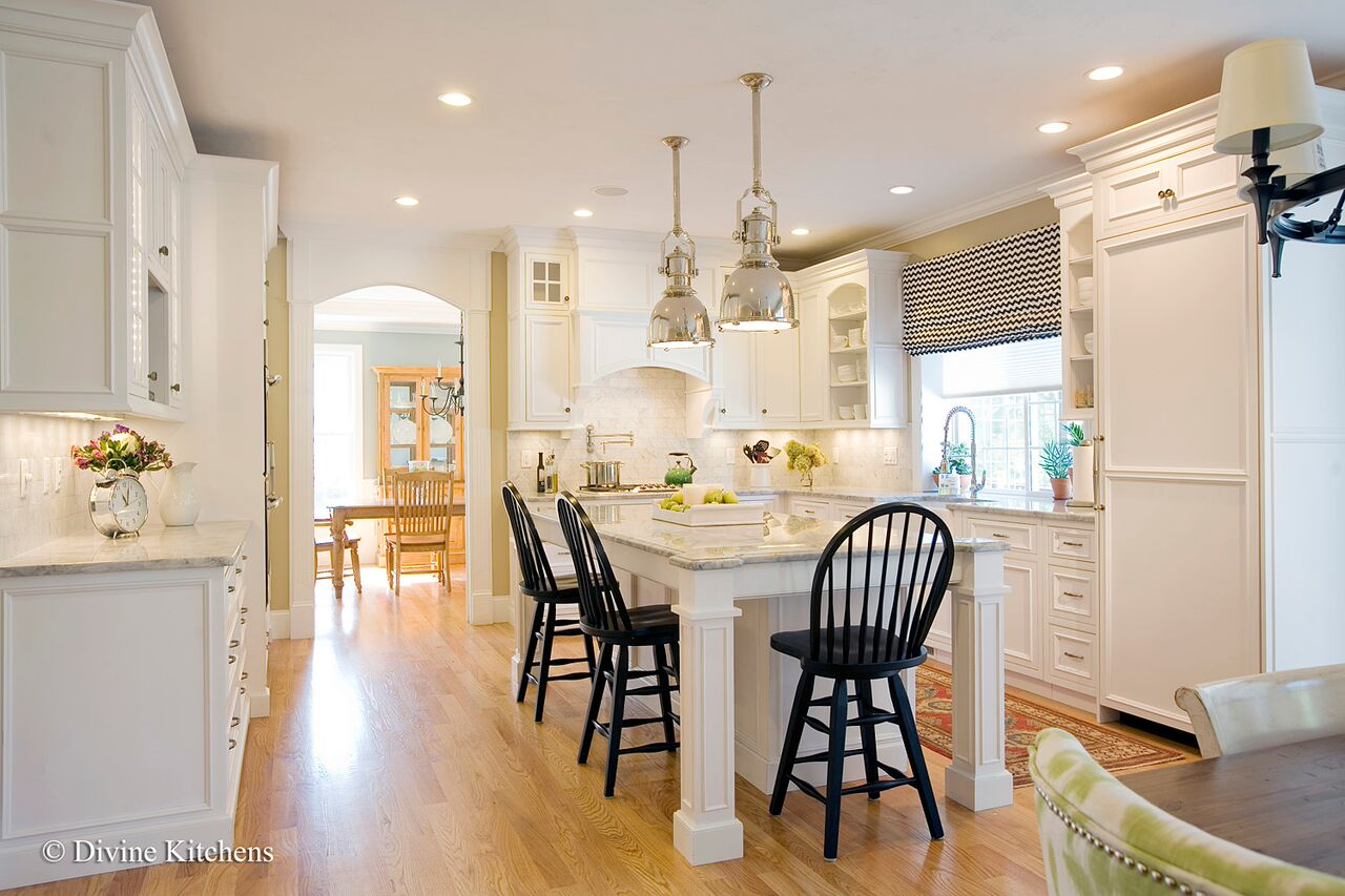 suburban boston kitchen renovation - after photo 8