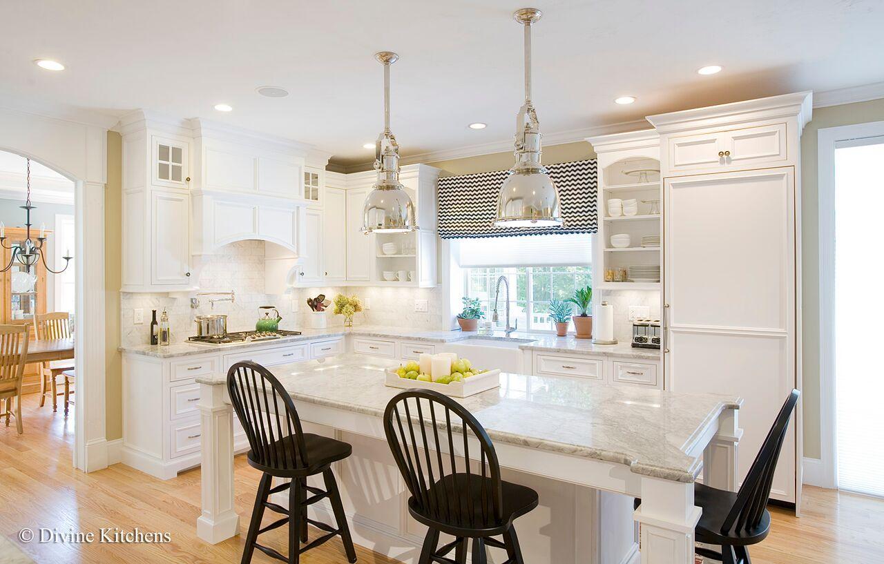 suburban boston kitchen renovation - after photo 7