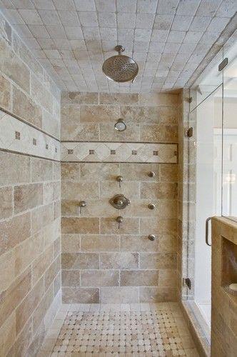6- rustic bathroom tile - best inspired