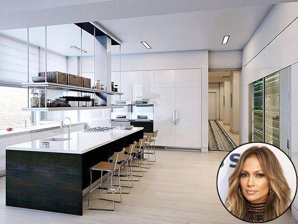 Celebrity kitchens- Jennifer Lopez- via people