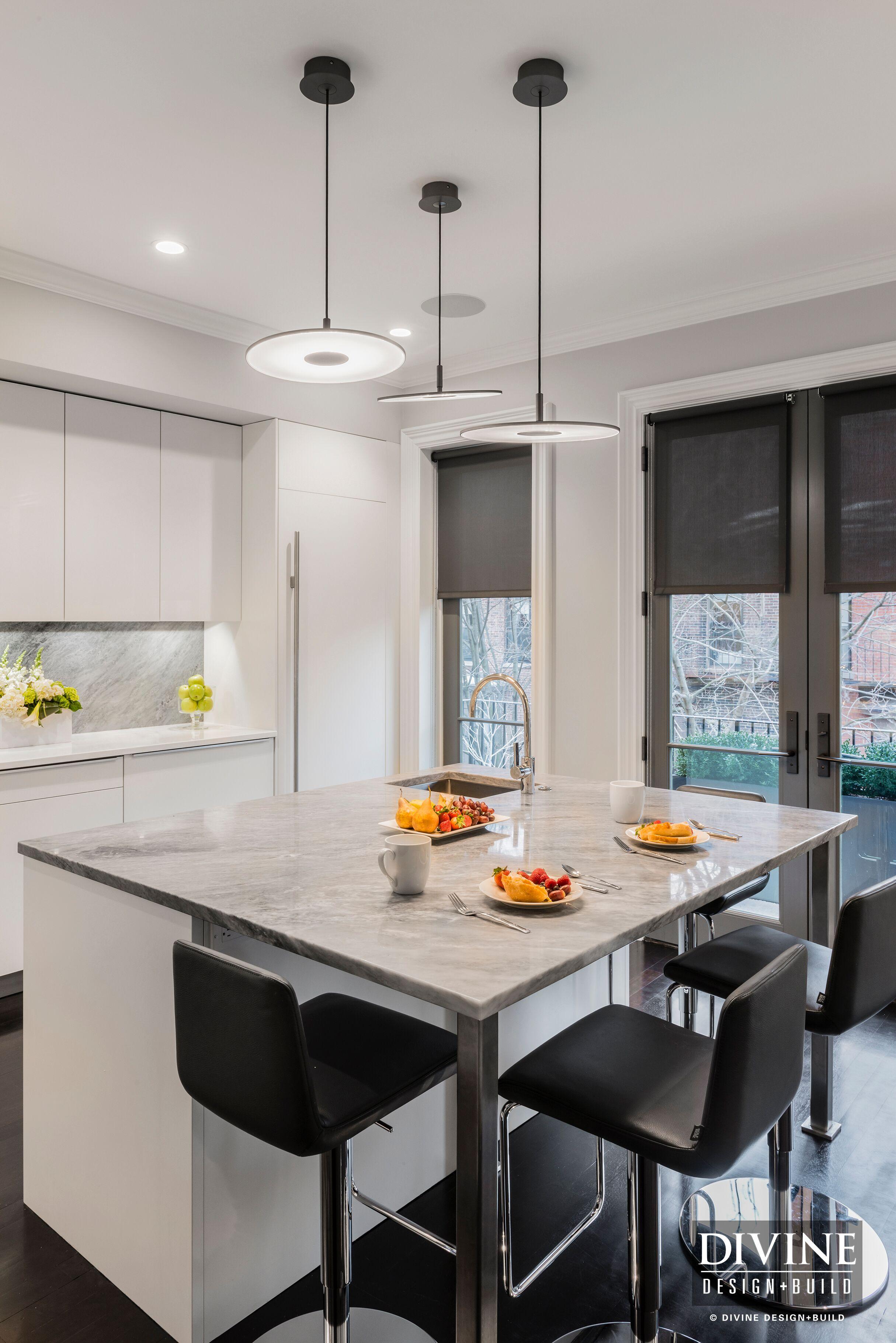 a modern kitchen design in boston's south end — divine