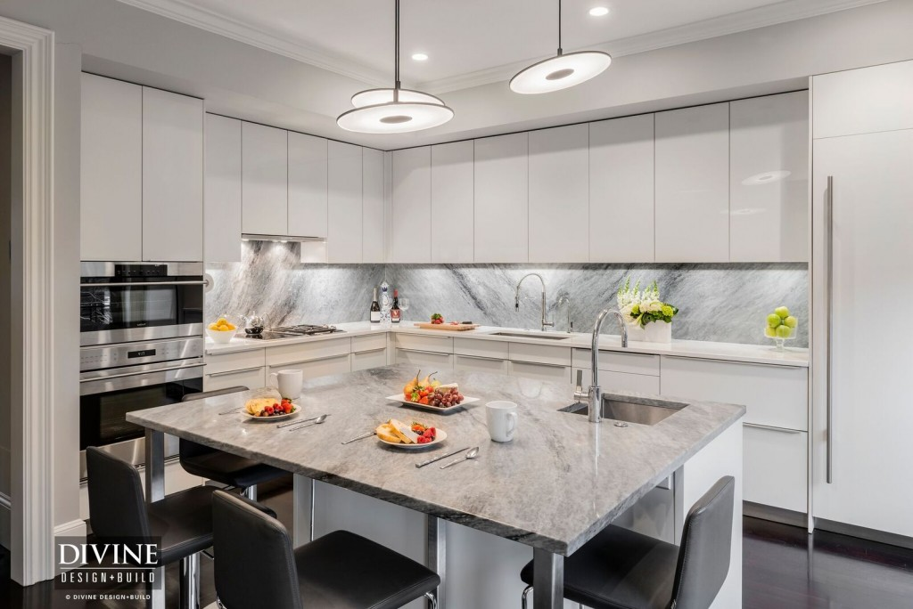 modern kitchen design in boston