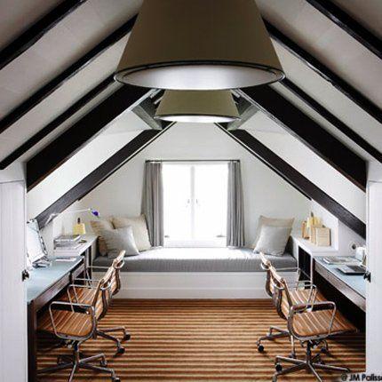 Attic office space - Marie claire maison