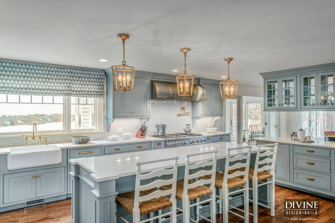 a cape cod kitchen dream divine design build. Black Bedroom Furniture Sets. Home Design Ideas