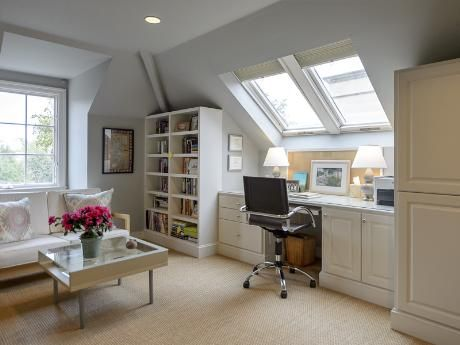 attic office space - mixed used - briggs freeman