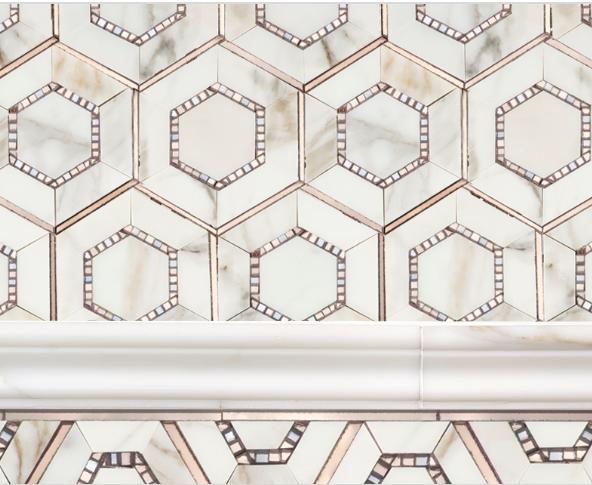 AKDO Allure Charisma Borders Tile
