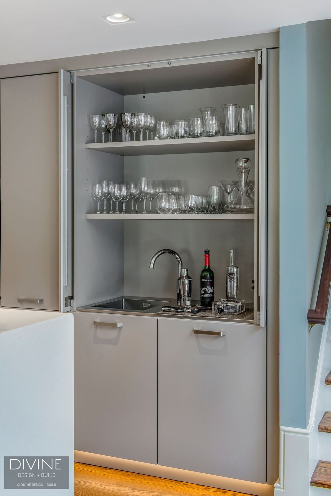 Wet Bar Design in the Kitchen — Divine Design+Build